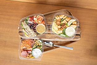 Salads- Kindred Kitchen Food Overhead 20