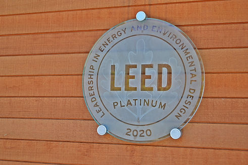 HopeWorks Station LEED Platinum Plague .