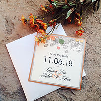 niagara falls wedding invitations, niagara wedding invitations