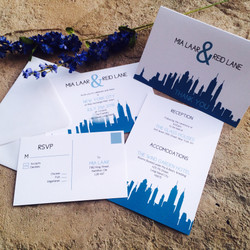NY Destination Wedding Invitations