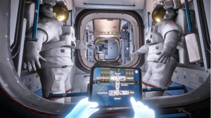 ISS VR spacewalk