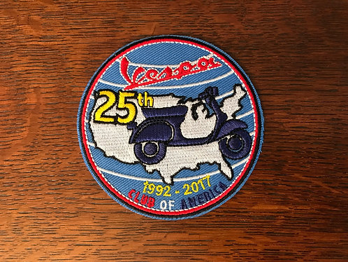 25 Year Anniversary Patch