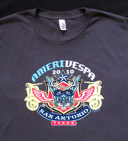 Amerivespa 2010 Rally Shirt