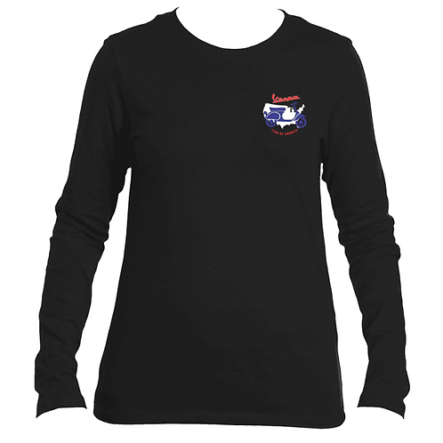 Vespa Club of America Women's Long Sleeve T-Shirt