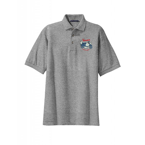 Vespa Club of America (VCOA) Men's Embroidered Polo