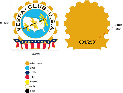 Vespa Club of America Cog