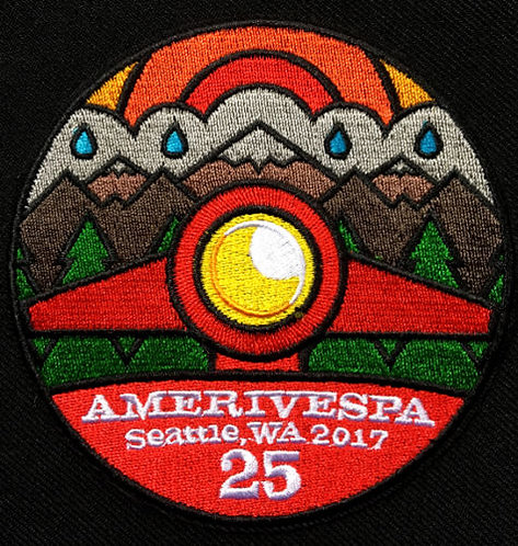 Amerivespa 2017 Rally Patch
