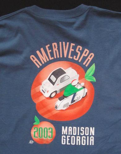 Amerivespa 2003 Rally Shirt