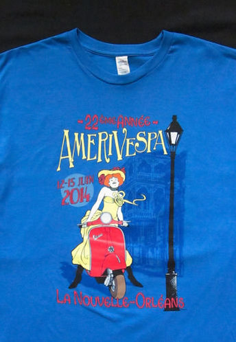 Amerivespa 2014 Rally Shirt
