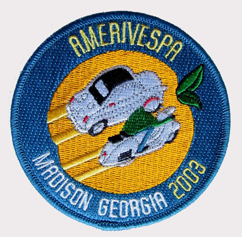 Amerivespa 2003 Rally Patch