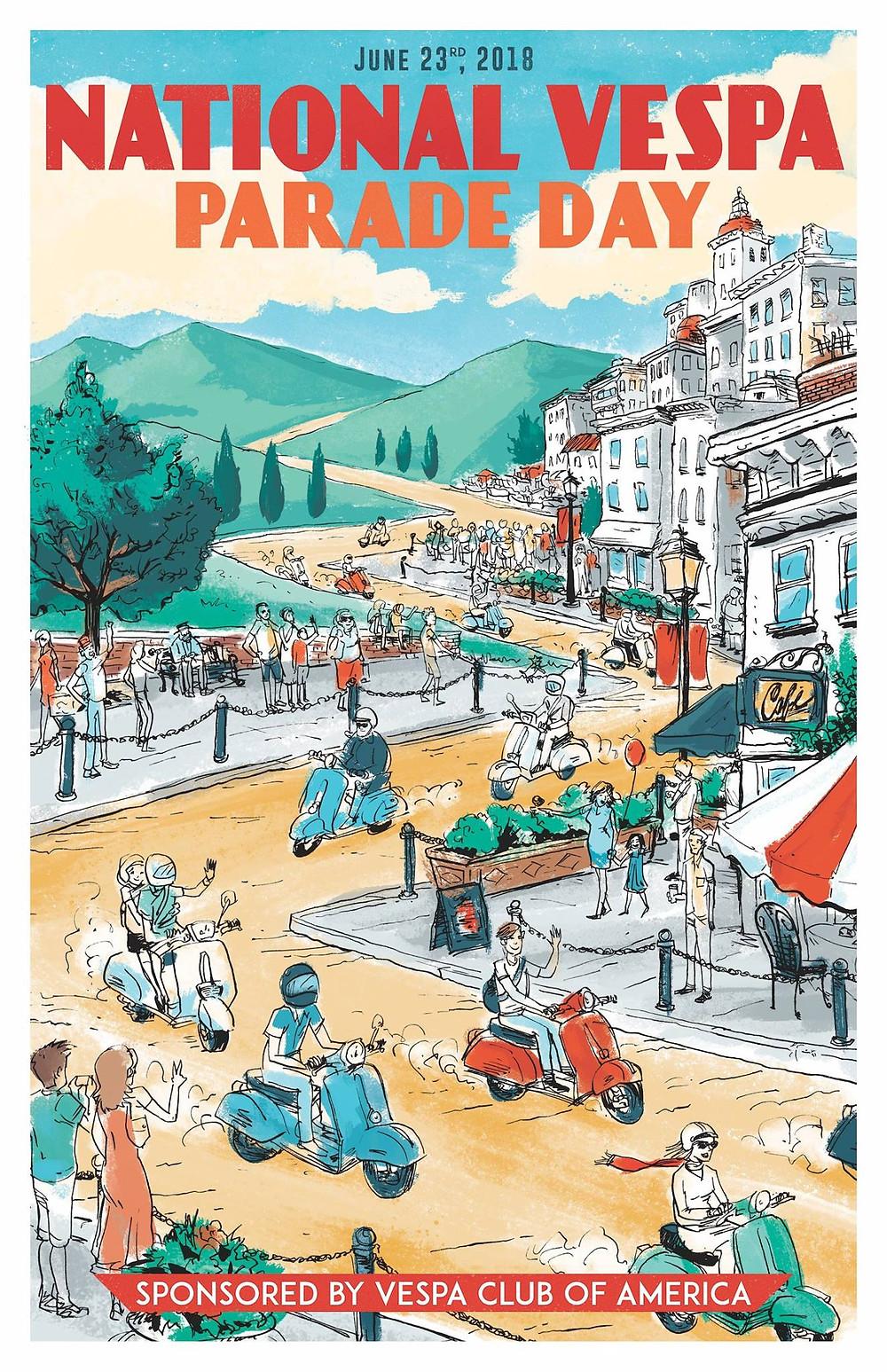 National Vespa Parade Day 2018