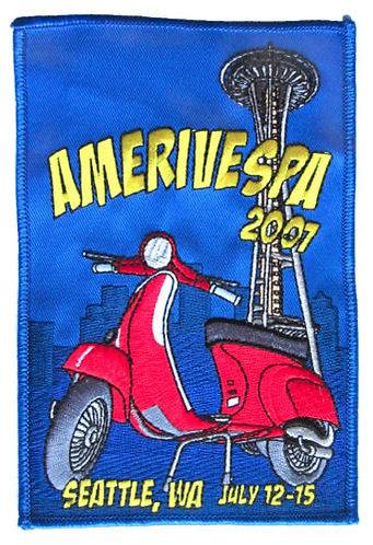 Amerivespa 20017 Rally Patch