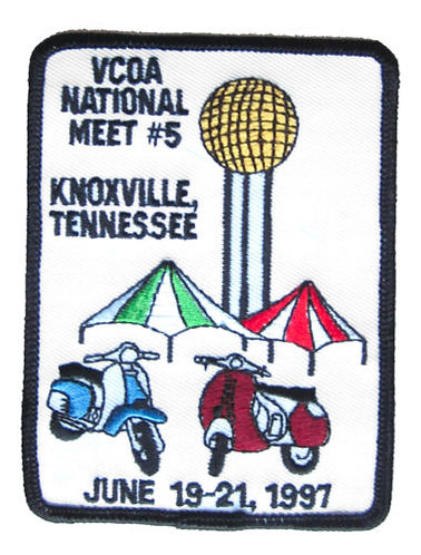 Amerivespa 1997 Rally Patch