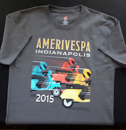 Amerivespa 2015 Rally Shirt