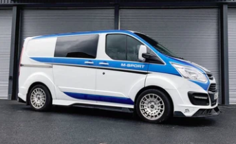 FORD TRANSIT CUSTOM- SIDE SKIRTS (LIMITED), ONLY FOR SWB