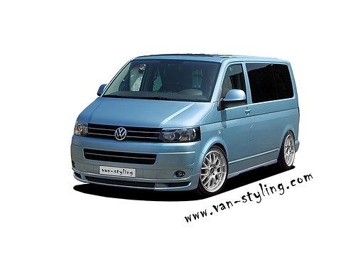 VW T5- Front splitter (AB_T), only for Transporter Facelift
