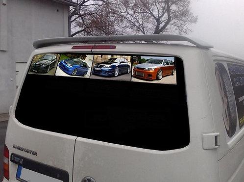 VW T5- Roof spoiler
