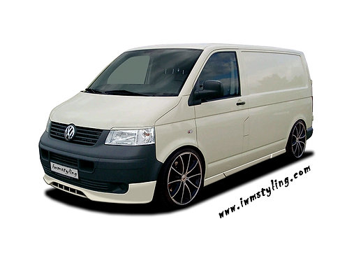 VW T5- Front splitter , Only for Prefacelift Transporter