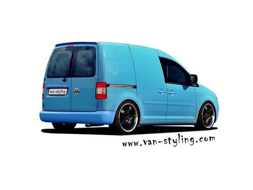 VW CADDY Mk3 2K- Roof Spoiler, only for Barn doors