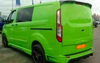 FORD TRANSIT CUSTOM- ROOF SPOILER, ONLY FOR TAILGATE ( EXTREME )