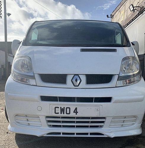 Vauxhall/Opel Vivaro MK2- Front splitter, only for Facelift