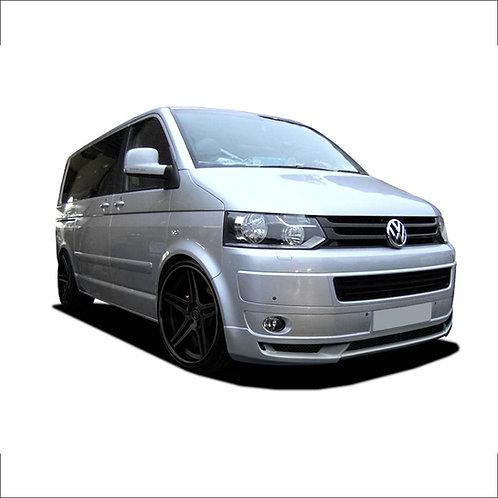 VW T5- Front splitter (GERMAN STYLE) Only for Transporter Facelift