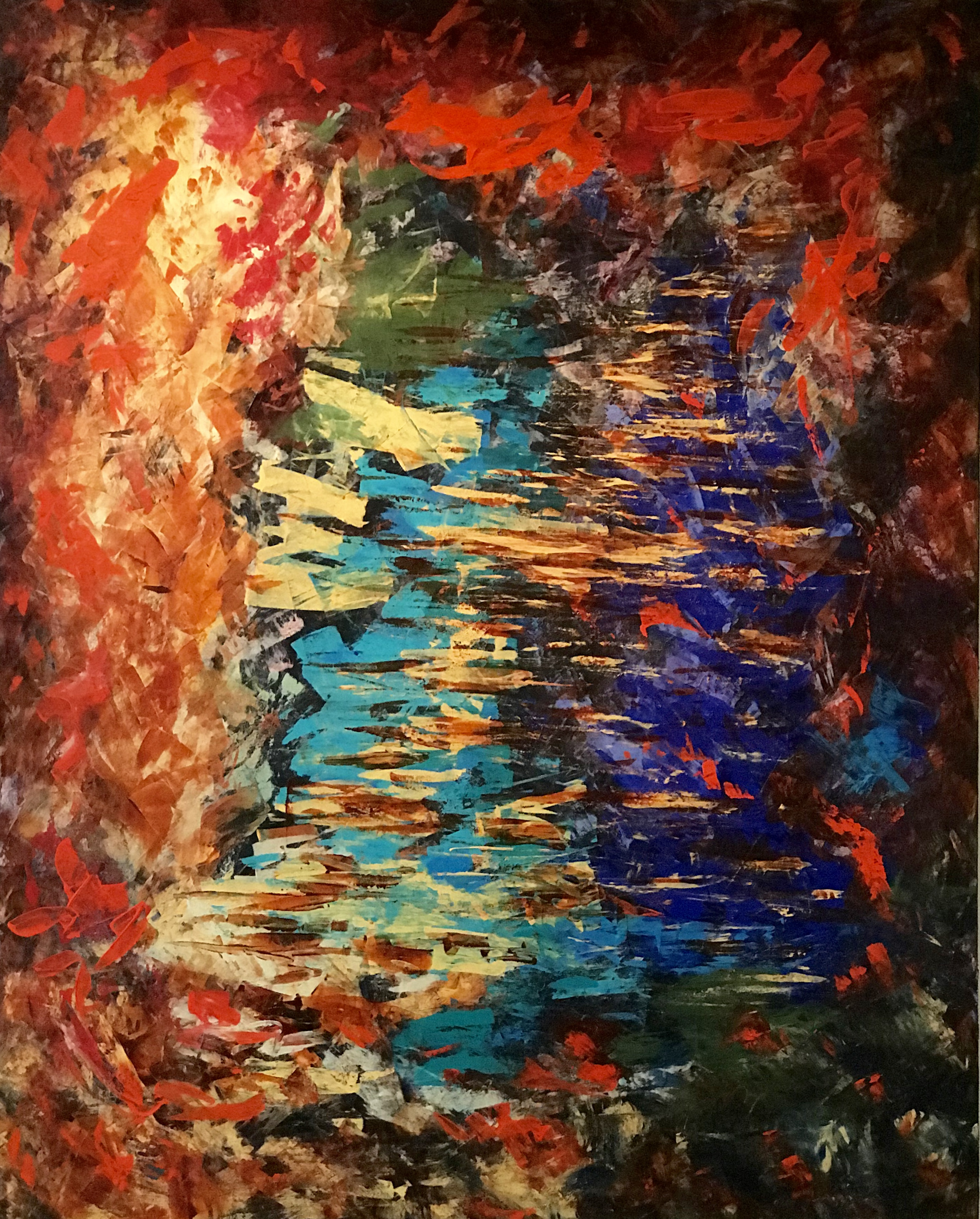 Big size Painting 152x122x4 cm