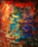 ''The Cave''. 152x122cm. Acrylic