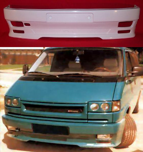 VW T4- FRONT BUMPER, ONLY FOR FLAT NOSE