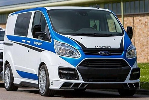 Ford Transit Custom- Front Bumper (M style), only for Prefacelift (WIDE)