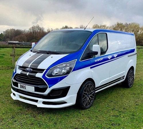 Ford Transit Custom- Body kit (RS) only for Prefacelift