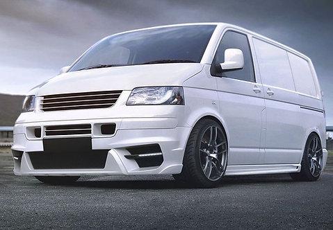 VW T5- Front splitter (MAGNUS II) Only for Prefacelift Transporter