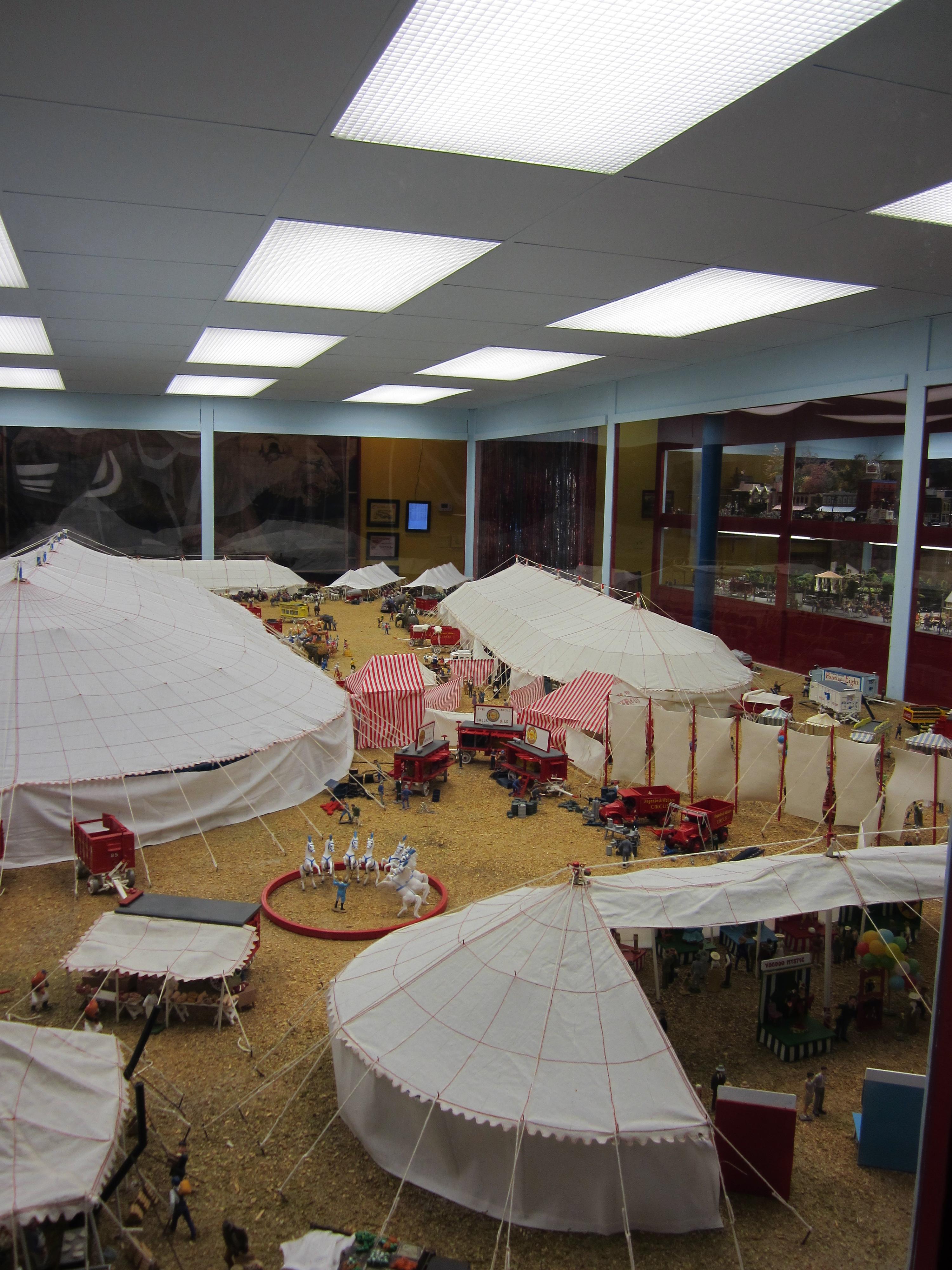 Circus Diorama