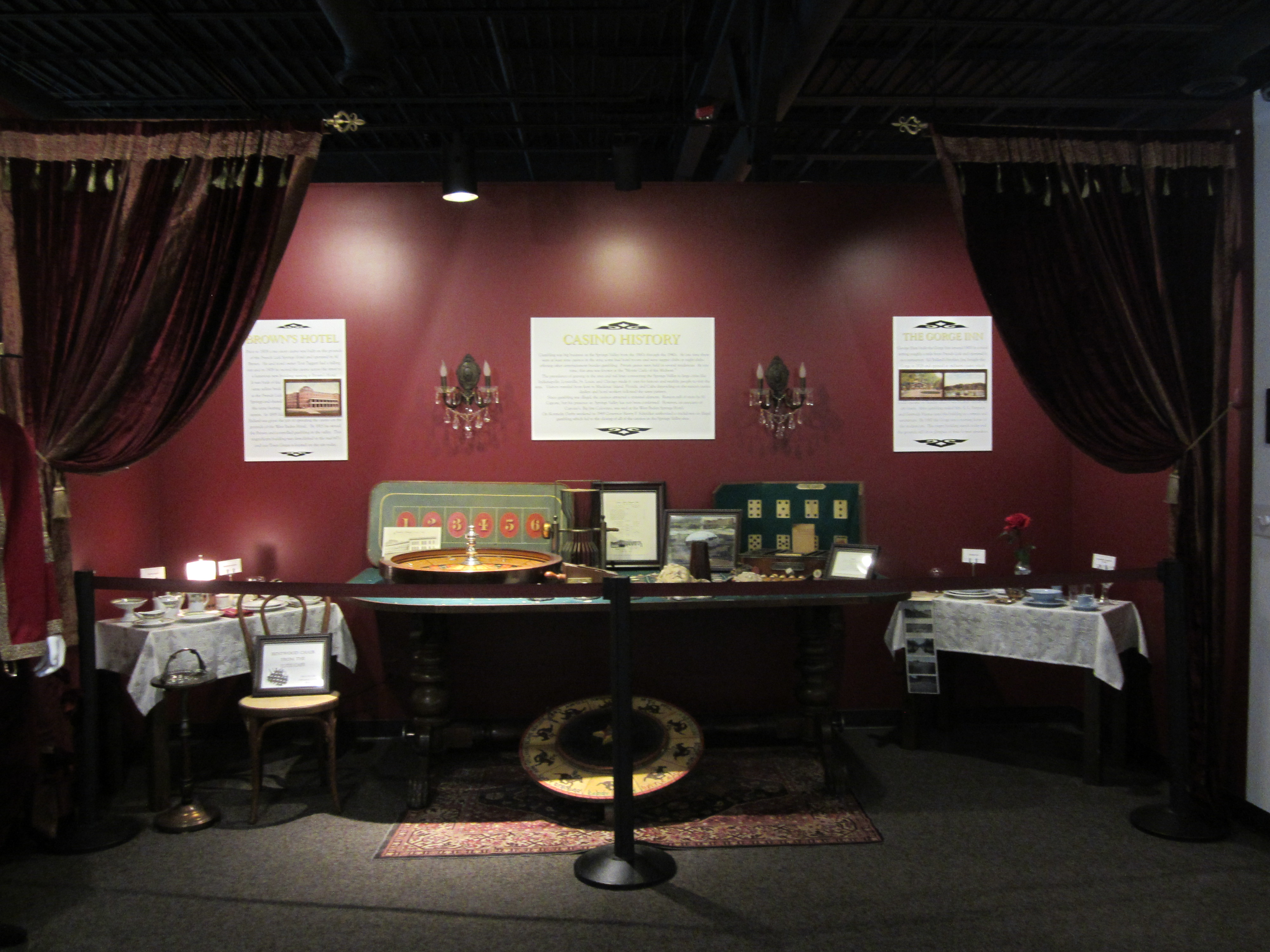 Casino Exhibit