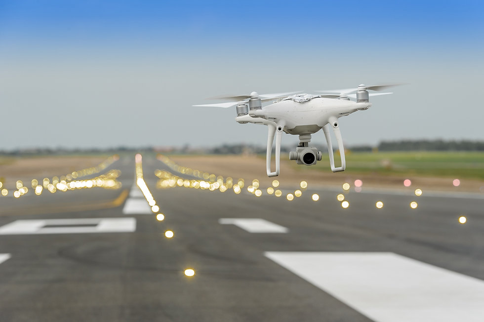 Drone in the airport.jpg