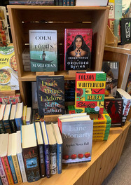 Dark Things I Adore in its natural habitat -- a bookstore! (The Briar Patch in Bangor, ME)