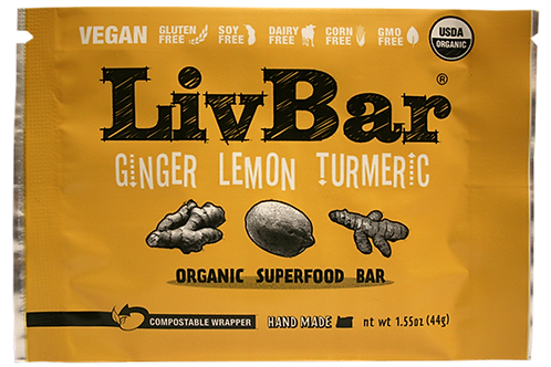(VEGAN) LEMON GINGER TURMERIC