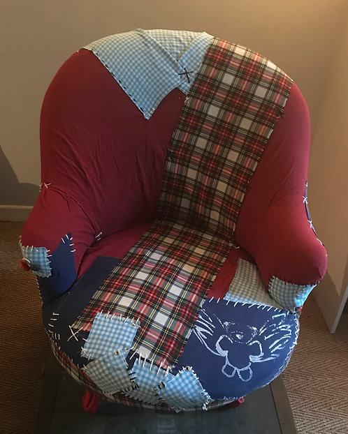 FAUTEUIL PATCH WORK
