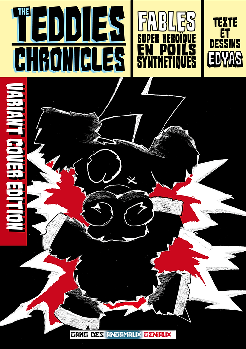 TEDDIES CHRONICLES Variant cover Vache t1+t2