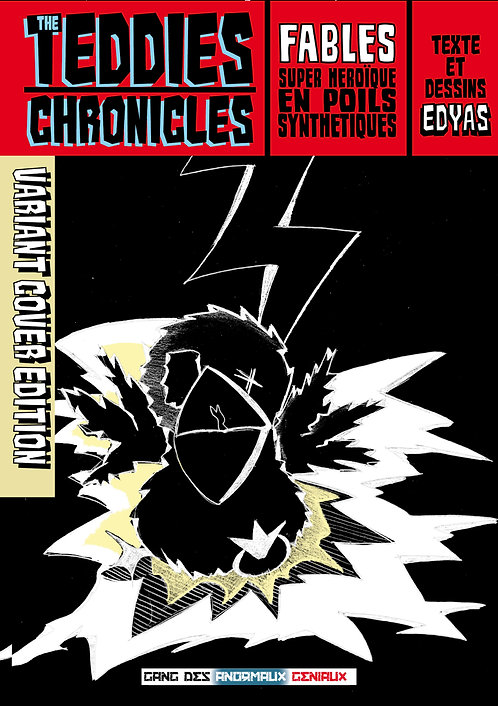 TEDDIES CHRONICLES Variant cover Oiseau t1 + t2