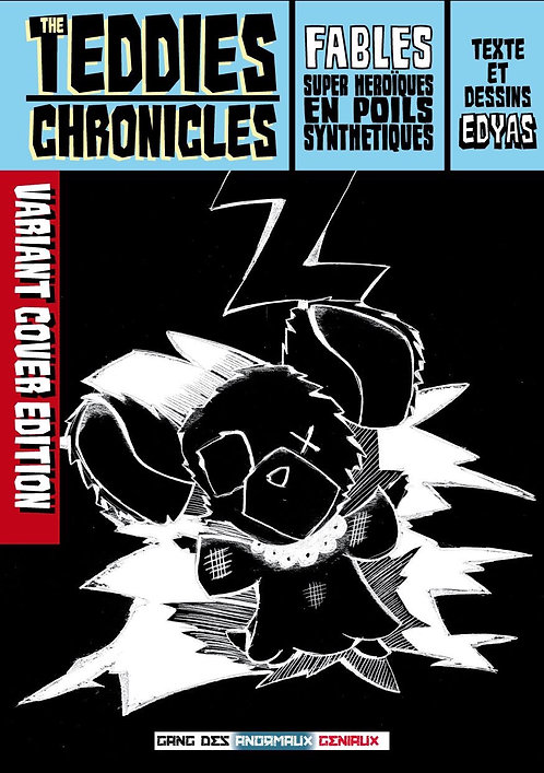 TEDDIES CHRONICLES Variant cover Souris t1+t2