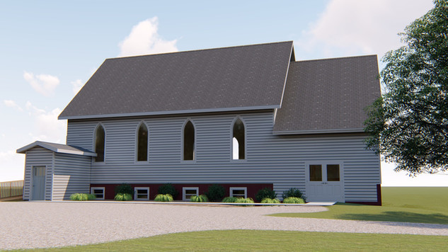 Rural Church Addition