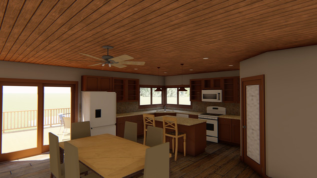 Pacific Junction House New Kitchen