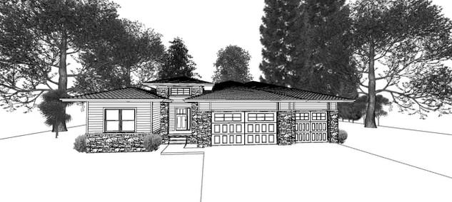 Vantage Design and Construction ranch.