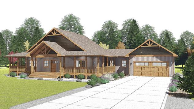 Custom Cabin design for a new getaway in Iowa