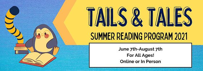 SIMPLE BANNER  Summer Reading Program 20