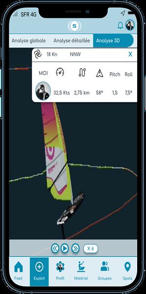 3D windfoil application