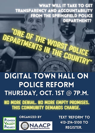 PVP-NAACP Police Accountability Town Hal