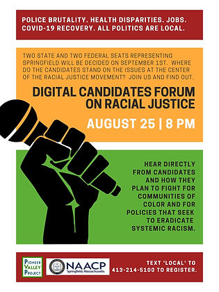 PVP NAACP Racial Justice Candidates Foru