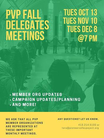 PVP Fall Delegates Meetings Flier 090920